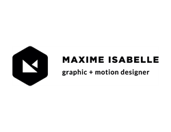 Maxime Isabelle, graphic + motion designer